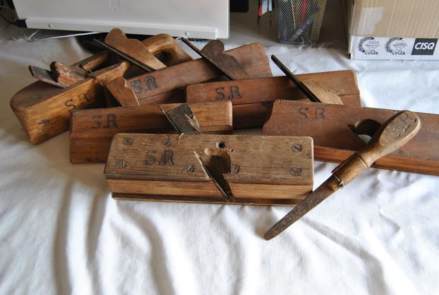 イタリアの大工道具収集